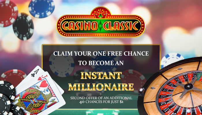 Play at Casino Classic and get a €£$500 bonus